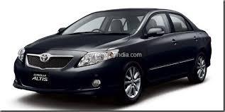 toyota corolla in india price toyota corolla altis diesel on road price specs varinats