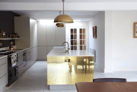 kitchen half ball pendant light with shiny kitchen island also