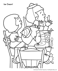 christmas party colouring pages party coloring pages