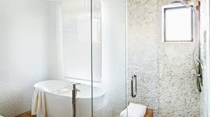mosaic bathroom tile ideas shower awesome shower floor tile ideas rock looking floor tile