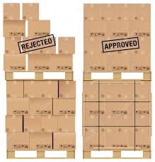 cardboard boxes on wooden palette stock vector elgusser 24312763