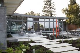 remodeled eichler house is an oasis of calm in the heart of