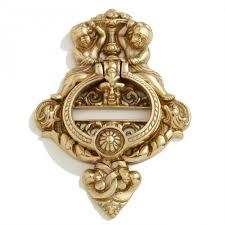 solid brass cherubs door knocker hardware