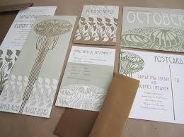 art nouveau wedding invitations by jeremy u0026 kathleen invitation