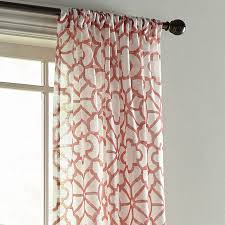 Pier One Paisley Curtains by Highlife Sheer Coral Curtain Pier 1 Imports