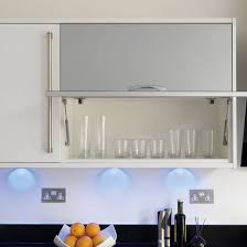 Kitchen Wall Cabinets Uk Take A Tour Around A Modern White And Dark Wood Kitchen Ideal Home
