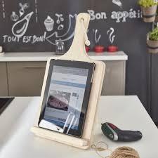 tablette pour cuisine tuto créer un support pour tablette pour la cuisine