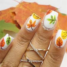 20 fantastic nail designs for thanksgiving crazyforus