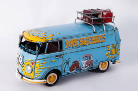 black volkswagen bus bamber bridge u201d volkswagen deluxe camper 1967 scale model