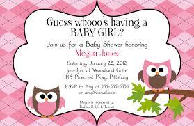 owl baby shower invitations templates invitations ideas