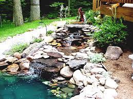small garden pond designs stone ponds ideas waterfall stone