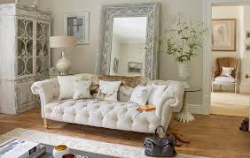 Shabby Chic Sofa Bed by Wiltshire White Tufted Sofa Living Room Shabby Chic Style With Off