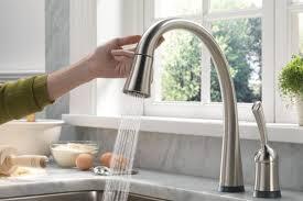 delta touch kitchen faucet delta touch kitchen faucet light kitchen ideas gcsxdg
