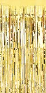 Gold Metallic Curtains Special Offer Gold Metallic Shimmer Curtain Thick Strands