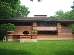 Prairie Home Style Frank Lloyd Wright Arthur Heurtley House 1902 Oak Park