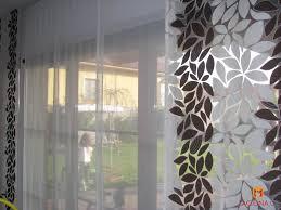 designer gardinen kombination raffrollo und japanischer wand ideen unserer