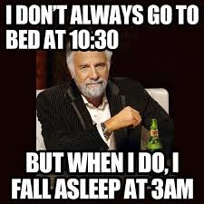 Meme Daily - bedtime meme my favorite daily things
