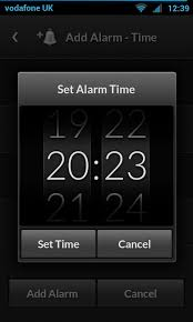 how to set alarm on android alarm clock ideas ui ux ui ux