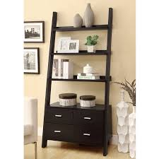 Coaster 4 Drawer Ladder Style Bookcase Walmart Com