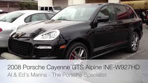 2008 Porsche Cayenne - 2008 porsche cayenne alpine touchscreen navigation ine w927hd with