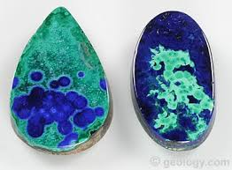 Verditer Blue Azurite The Blue Gem Material Ore Of Copper And Pigment