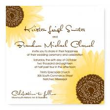 sunflower wedding programs sunflower wedding program