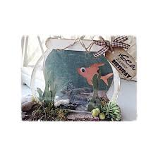 dutch doobadoo card art template fish bowl 713504 buddly crafts