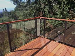 Wind Screens For Decks by Glass Railings Introducing The Glass Lock 3000