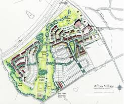afton village site map afton village a new old neighborhood in