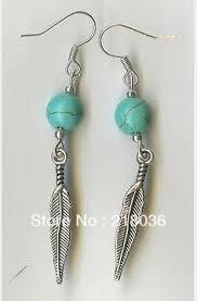 diy drop earrings clovers beaded diy earring kit jade green diy earrings and
