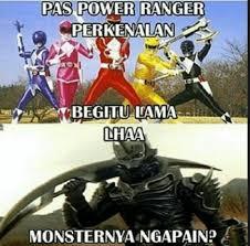 Power Ranger Meme - 13 meme power rangers yang bikin kamu ketawa lepas tanpa beban