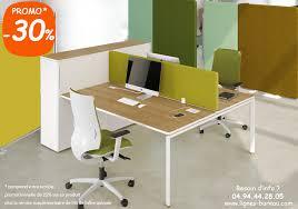 bureau 2 personnes bureau open space design pour 2 personnes rangement et séparateur