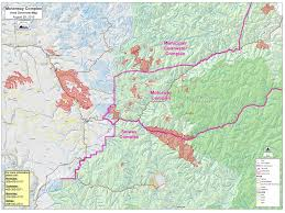 Idaho County Map Saturday Stranded Rafters Escorted Down From French Creek Idaho