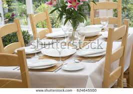 Dining Table Settings Pictures Dining Table Setting Stock Images Royalty Free Images Vectors