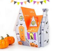 diy halloween house printable haunted house printable gift