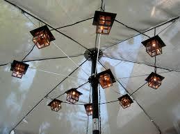 Patio Umbrella Lighting Patio Umbrella Lights String Lights Outdoor