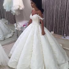 big wedding dresses vestido de novia trouwjurk luxury big gown dubai lace wedding
