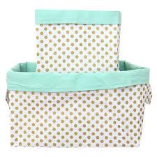 fabric storage bins nursery organization baskets caden lane