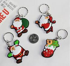 keychains ornament santa claus key ornaments cell