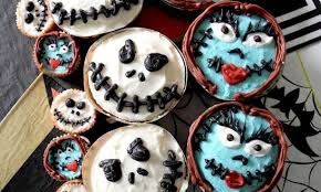 nightmare before christmas cupcake toppers excellent idea nightmare before christmas cupcakes cupcake stand