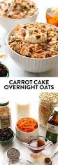 carrot cake overnight oats fit foodie finds