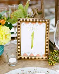 wedding table place card ideas wedding table number ideas that scored at real celebrations