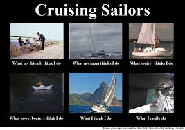 Sail Meme - lifestyle of living on a boat