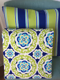 Ikat Home Decor Fabric by Outdoor Pillow Cover Navy Green Suzani Ikat Patio Porch