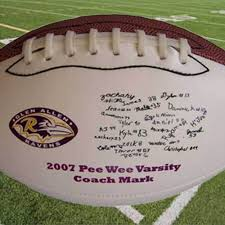 engraved football gifts dixie midwest custom personalized football coach gift