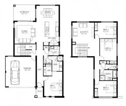 house plans 4 bedroom 2 story home plans for entertaining house 3