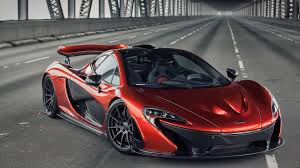 red orange cars red mclaren p1 on a bridge sport car wallpaper download 3840x2160