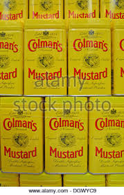 colman mustard colmans mustard shop and museum in royal arcade norwich stock
