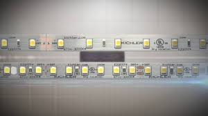 kichler led under cabinet lighting direct wire kichler led tapelight dimmable power supply technology youtube