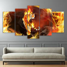 Home Decor Paintings For Sale Compare Prices On Abstract Tiger Paintings Online Shopping Buy